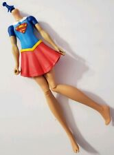 """DC SUPERHERO GIRLS ACTION DOLL SKIRT SUPERGIRL 12"""" NUDE BODY ONLY REPLACE OOAK"""