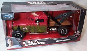 Jada Fast & Furious Hobbs & Shaw: Custom Peterbilt Tow Truck 1/24 Scale 32089 RB