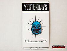 """The Creature 1"""" Soft Enamel Black Metal Plated Lapel Pin Yesterdays.Co"""