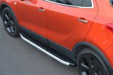 Aluminium Side Steps Bars Running Boards To Fit Vauxhall / Opel Mokka (2012+)
