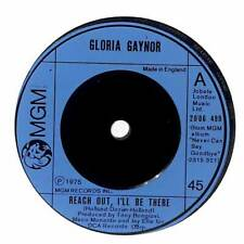 """Gloria Gaynor - Reach Out, I'll Be There - 7"""" Vinyl Record Single"""
