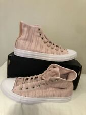 6cf6e91d1714 Converse Chuck Taylor All Star Hi Barely Rose Tan Womens Mesh High-Top Sz  9.5