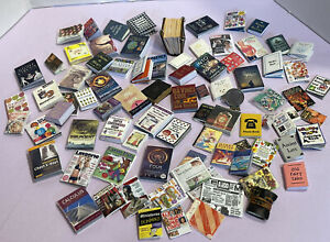 Large Lot Of Books Most Fully Printed Readable Dollhouse Miniature 1:12