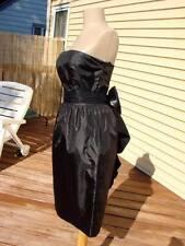 BETSEY JOHNSON RARE STRAPLESS BUSTLE BACK COCKTAIL DRESS~4  **FINAL sale**