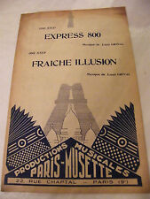 Partition Express 800 Grival Fraiche Illusion Louis Grival One Step