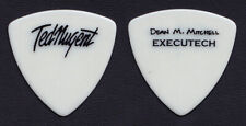 Ted Nugent Dean Mitchell Signature Guitar Tech White Bass Guitar Pick