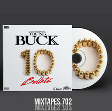 Young Buck - 10 Bullets Mixtape (Full Art CD/Front/Back Cover)