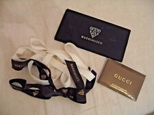 GUCCI GIFT  ribbons authenticity gift card & thin box