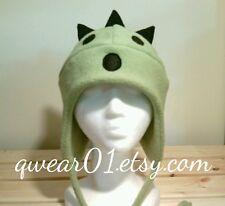 Final Fantasy, Cactuar fleece hat, cactuar hat, AVIATOR Hat, cactuar earflap hat