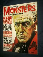FAMOUS MONSTERS #9  Nice   HIGH GRADE COPY !  auction