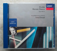 DVORAK: SLAVONIC DANCES, OPP. 46 AND 72 ANTAL DORATI (CD, London)