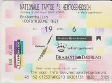 Sammler Used Ticket / Entrada Nationale Taptoe 's Hertogenbosch 02-10-2005