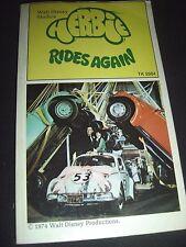 Herbie Rides Again Walt Disney 1974 Paperback TK 2664