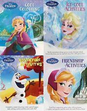 Disney - REINE DES NEIGES __ 4 Livre ensemble __ activités / coloriage __ NEUF