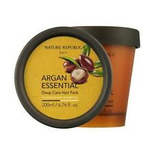 [ Nature Republic ] Argan Essential Deep Care Hair Pack 200ml ++Free Sample++