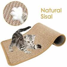New listing Cat Scratcher Mat, 15.7 x 23.6'' Natural Sisal Woven Rope Scratching Pad, Khaki
