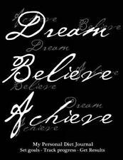 My Personal Diet Journal, Set Goals, Track Progress, Get Results : Effective ...