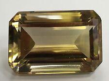 90.45ct! Emerald Cut Appx 33x22 Citrine Smoky Quartz Gem Loose Stone Jewel Rare