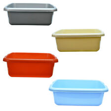 New High Quality Rectangular Washing Bowls 5L Available In Multiple Colours