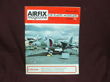 A1A AIRFIX MAGAZINE! For Plastic Modellers February 1973 FREE SHIPPING!