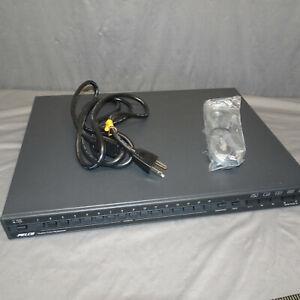 PELCO MX4016CD 16-Channel GENEX Duplex Color Multiplexer