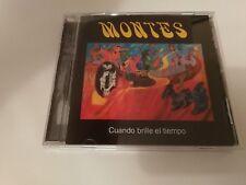 Montes - Cuando Brille El Tiempo - CD (Prog Rock, 1974)