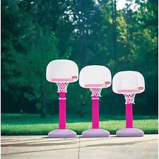 Basketball Hoop For Girls Outdoor Indoor Shooting Game Adjustable Toddlers Gift