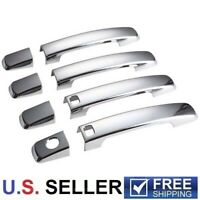 For 2007-2012 Nissan Altima Chrome Door Handle Covers With Smartkey Hole Cutout