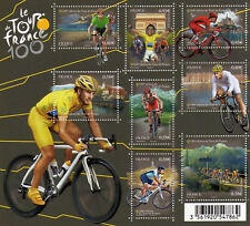 FRANCE 2013 Cyclisme Bloc Yv 4755/4762 MNH **