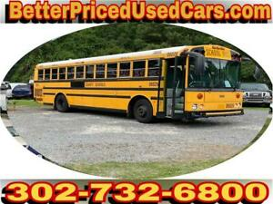 2007 Thomas Pusher School Bus Allison Trans- MBE906 - 017