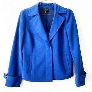 TALBOTS blue blazer jacket outerwear size 4