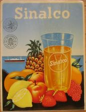 'Sinalco' Fruit Soda Pop, Advertising Window Decal / Sign - 1940s