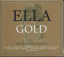 Ella Fitzgerald - Gold - The Best Of / Greatest Hits 3CD NEW/SEALED