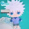 HUNTER×HUNTER Killua Zoldyck Anime DIY Handmade Toy Bag Hanging Plush Doll Gift