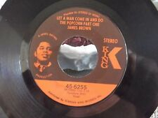 JAMES BROWN ON KING RECORDS HIPPER / LET A MAN COME IN AND DO THE POPCORN