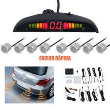 8 Sensor Automóvil Marcha Atrás Estacionamiento Inverso Alarma Delantero Trasero