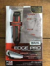 USED Wahl T Styler Pro Edge Pro Hair Beard Trimmer Clipper Edging 9686-300