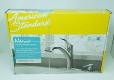 NEW American Standard Mesa Pull-Out Kitchen Faucet - Stainless Steel Soap Pump