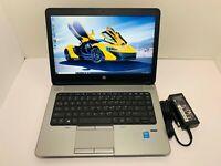 """HP ProBook 640 G1 Intel Core i5-4340M 2.9GHz 8GB RAM 128GB SSD 14"""" Full HD Win10"""