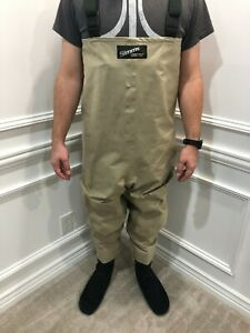 Simms XL Gore-Tex Chest Waders Fishing Stockingfoot Tall Long Suspenders USA