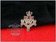 Royal Hong Kong Regiment ( The Volunteers ) Badge - Sliver