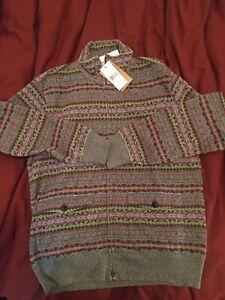 Double RL Fair Isle Sweatshirt Size M RRL Ralph Lauren