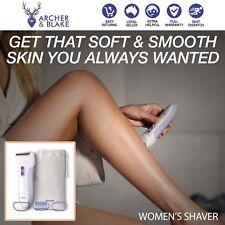 Womens Lady Shaver Leg Body Hair Remover Electric Wet Dry Shaving Shower Trimmer