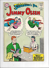 Superman's Pal, Jimmy Olsen #75/Silver Age DC Comic Book/Supergirl/VG+