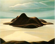 "Lawren Harris, Group of Seven  ""Pic Island"" Large Print"