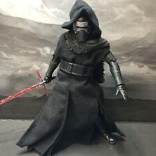 Star Wars Mafex Medicom Kylo Ren Figure scales w/Black Series Loose Complete+Box