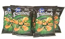 JAY'S KRUNCHERS Jalapeno Potato Chips A Chicago Original 5 Pack 1 oz bags