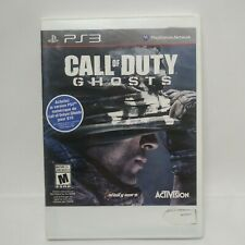 Call of Duty: Ghosts (PlayStation 3, 2013) PS3 Spanish Case FREE SHIPPING