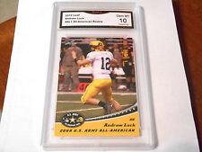 Andrew Luck GRADED ROOKIE!! Gem Mint 10!! 2012 Leaf #AL1 Colts MVP 10-3