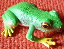 AUSTRALIAN ANIMAL RED EYED GREEN FROG FUNDRAISER GIFT Small Replica - Size 40mm